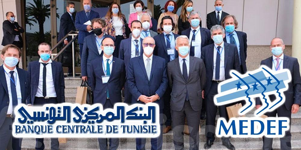 Abassi à la délégation du MEDEF : Investissez en Tunisie