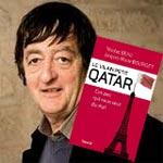 Signatures du dernier ouvrage de Nicolas Beau à Tunis : ''Le vilain petit Qatar...''