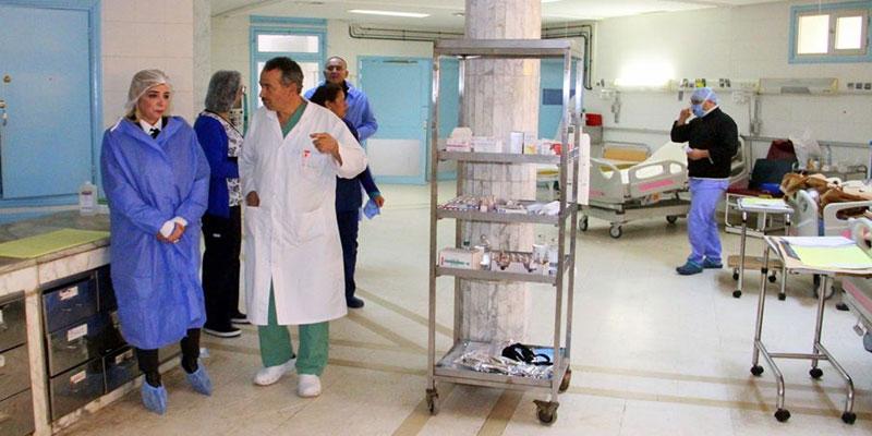 شهد نجاح عملية زرع قلب: وزيرة الصحة تتحوّل الى مستشفى الرابطة