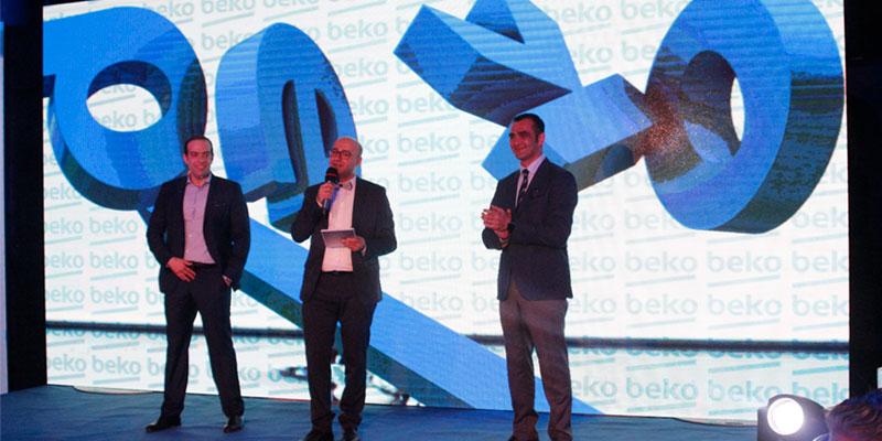 En photos : Beko organise un dîner de gala et présente sa gamme Inverter