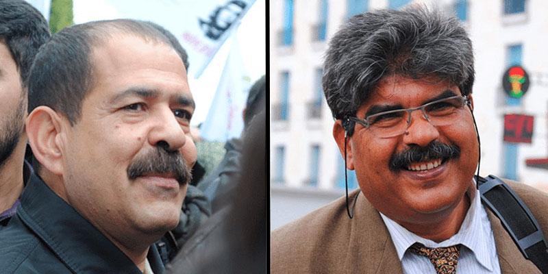 Le collectif de défense de l'affaire Belaïd et Brahmi en sit-in ouvert