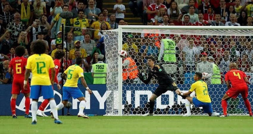 بالفيديو..الهدف الأول لبلجيكا