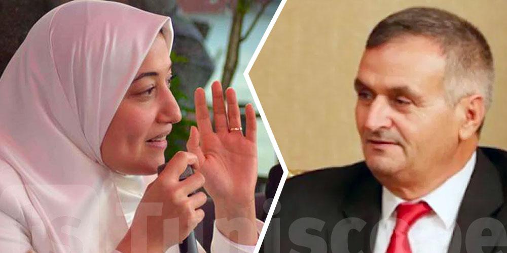 Saida Ounissi tire à boulets rouges sur Fethi Belhaj ministre de l'Emploi