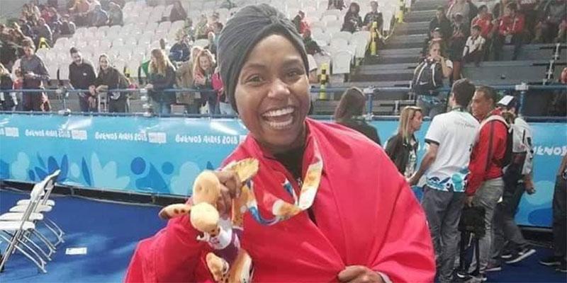 من هي غفران بالخير صاحبة اول ميدالية ذهبية تونسية في أولمبياد الأرجنتين؟