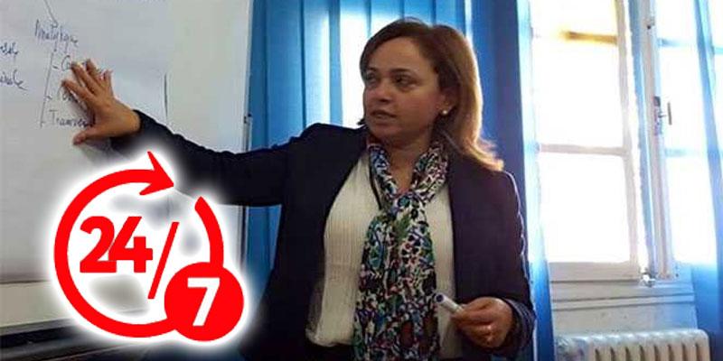 Nissaf Ben Alaya : On travaille 24 heures sur 24 et 7 jours sur 7