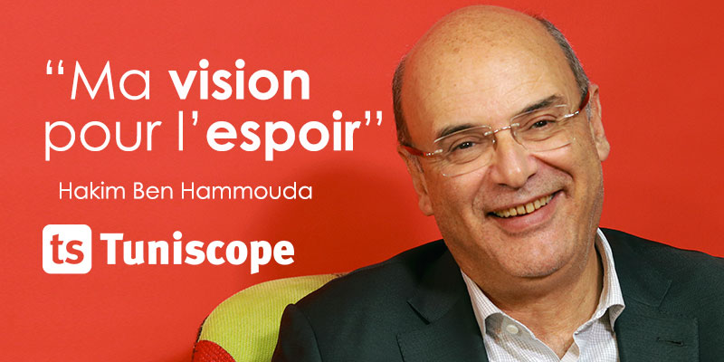 En vidéo : La vision de Hakim Ben Hammouda pour retrouver l'espoir