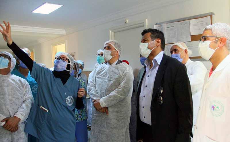En Photos : Inauguration d'un service de réanimation à l'hôpital de Ben Arous