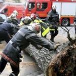 Ben Arous : Différents accidents à cause des vents violents