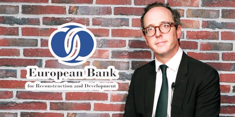 En vidéo : Antoine Sallé de Chou présente la BERD en Tunisie