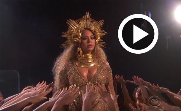 En vidéo : La performance à couper le souffle de Beyoncé aux Grammy Awards