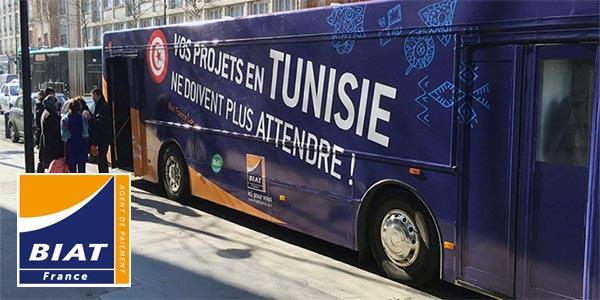 La BIAT lance un road show pour les tunisiens en île de France