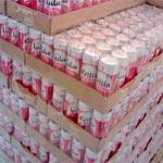 Arrestation d'un individu en possession de 3316 canettes de bière