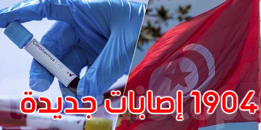81 حالة وفاة جديدة بفيروس كورونا في تونس