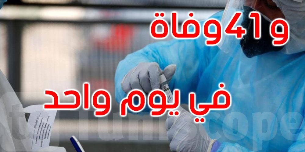 518 إصابة جديدة بفيروس كورونا في تونس