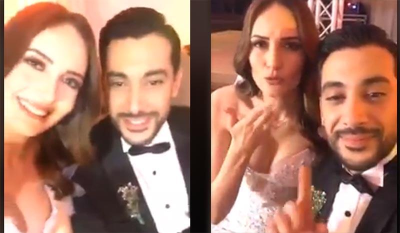 بالصور والفيديو: بلال الباجي يحتفل بزواجه