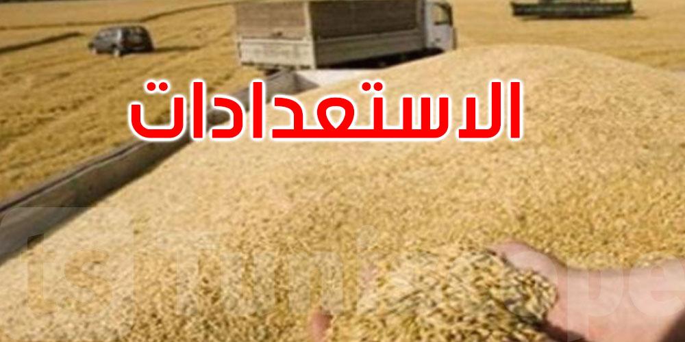 وزارة الفلاحة: تأمين نقل الحبوب عبر السّكك الحديديّة والشّاحنات