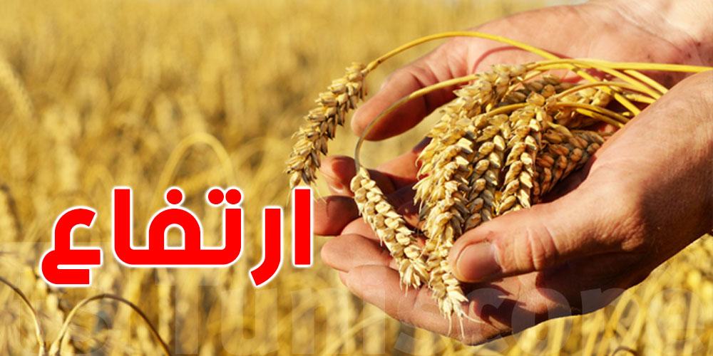 إرتفاع أسعار القمح بنسبة 12,8 بالمائة على مستوى السوق الدولية