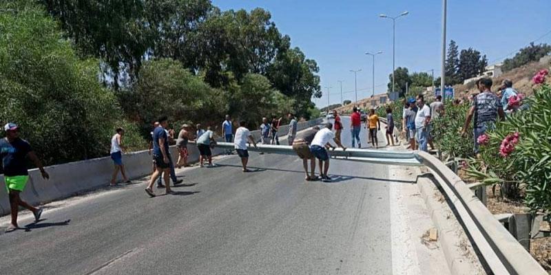 Mesures sécuritaires pour éviter l'embouteillage de la route de Bizerte