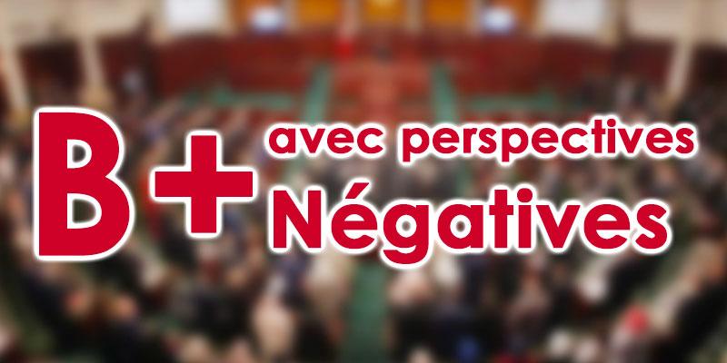 Fitch maintient la notation de la Tunisie à 'B+' avec perspectives 'négatives'