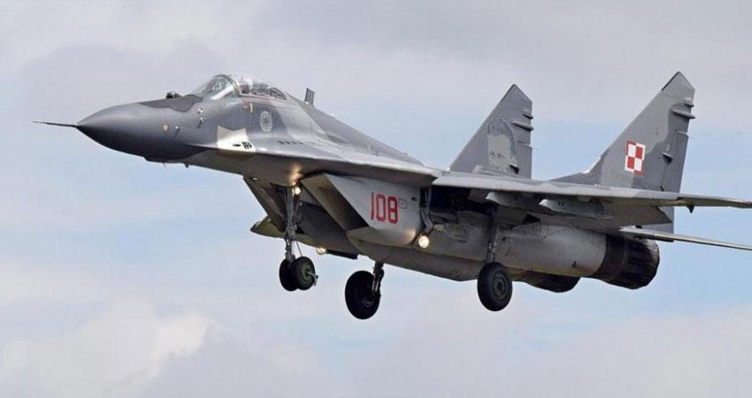 بولندا.. تحطم مقاتلة ميغ 29 ومصرع قائدها