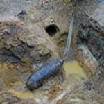Découverte et désamorçage d'une bombe datant de la 2ème guerre mondiale