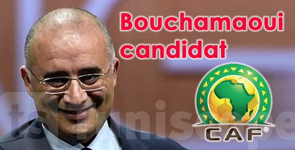 Tarek Bouchamaoui,candidat à la présidence de la CAF, demande l'appui de la FTF