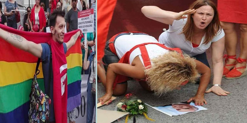 رئيس جمعية شمس للمثلية يتبرّأ من هذه المرأة