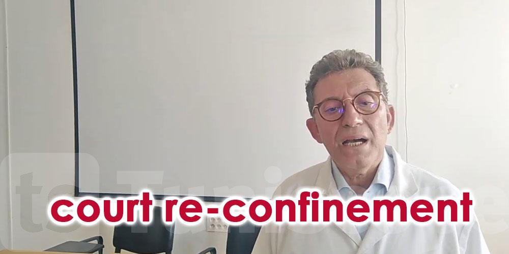 Rafik Boujdaria propose un court re-confinement