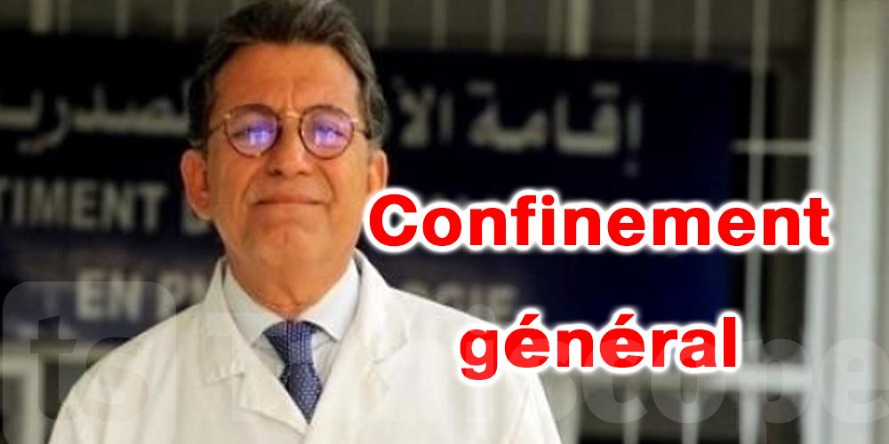 Tunisie-coronavirus : Dr Boujdaria évoque le confinement général