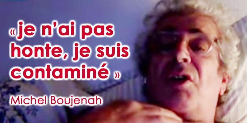 Michel Boujenah : je n'ai pas honte de le dire, je suis contaminé par le Corona