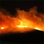 توضيح الداخلية بخصوص ملابسات الحريق الذي إندلع بجبل بوقرنين ليلة أمس