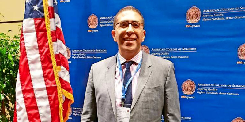 Mohamed Bourguiba, distingué comme l'un des meilleurs chirurgiens au monde
