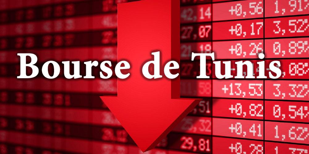 Le TUNINDEX termine la séance de jeudi dans le rouge