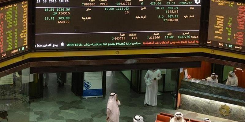 هبوط شبه جماعي للبورصات الخليجية مع تراجع النفط