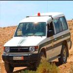 سيدي بوزيد: الحرس الوطني يوقف سيارة تهريب ببئر الحفي بالرصاص الحي