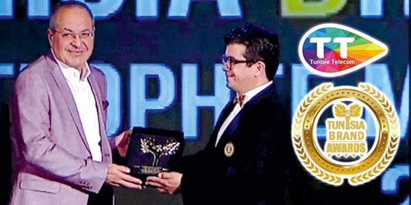En vidéo : Tunisie Telecom remporte un Brand Awards 2017