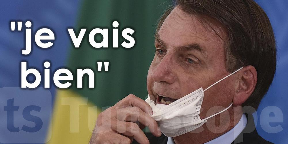Le président brésilien contaminé par le coronavirus