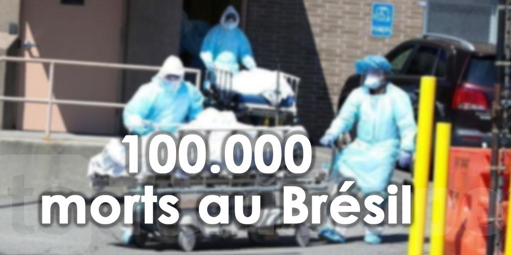 Le Brésil dépasse le seuil des 100.000 morts