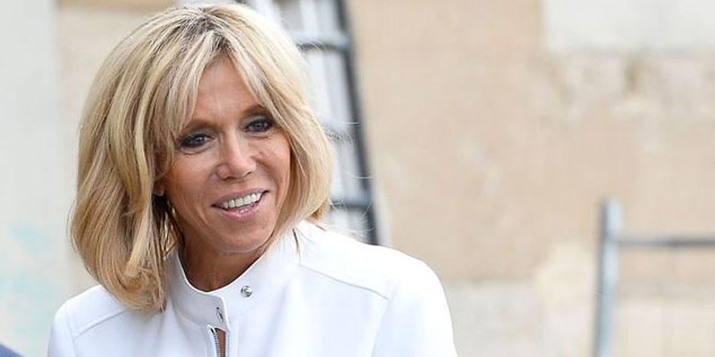 En photos : Brigitte Macron fait sensation à Sidi Bou Saïd dans une tenue signée Azzedine Alaïa