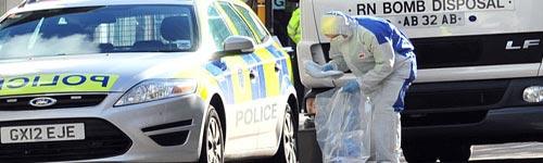 بريطانيا: استنفار أمني بعد العثور على عبوات مشبوهة