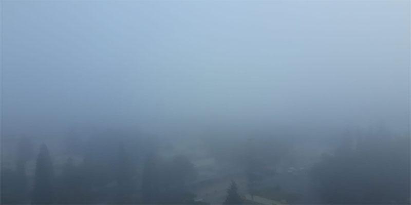 En photo : Sousse se réveille dans le brouillard