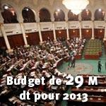 Le budget de l'ANC passera à 29 millions de dinars en 2013