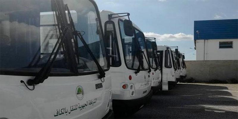 Renforcement du parc de transport régional du Kef par 8 nouveaux autobus