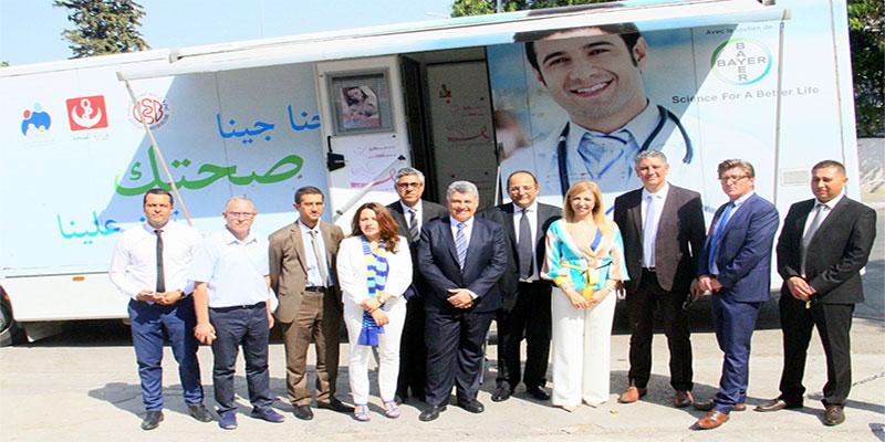 Un don de bus médical pour faciliter l'accès aux soins de santé dans les zones rurales
