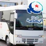 BCE : Des bus de nahdhaouis de Ksour Essef sont arrivés à Djerba