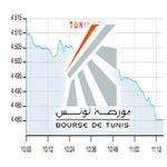 La bourse accuse le coup après la tentative de Sousse