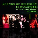 Sounds of Delusion : Shinigami San, Lahab, Krux, Kokodrinks sur scène!