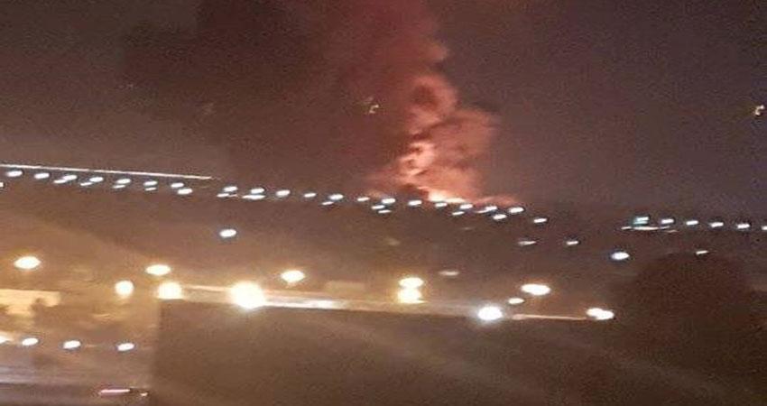 انفجار قرب مطار القاهرة