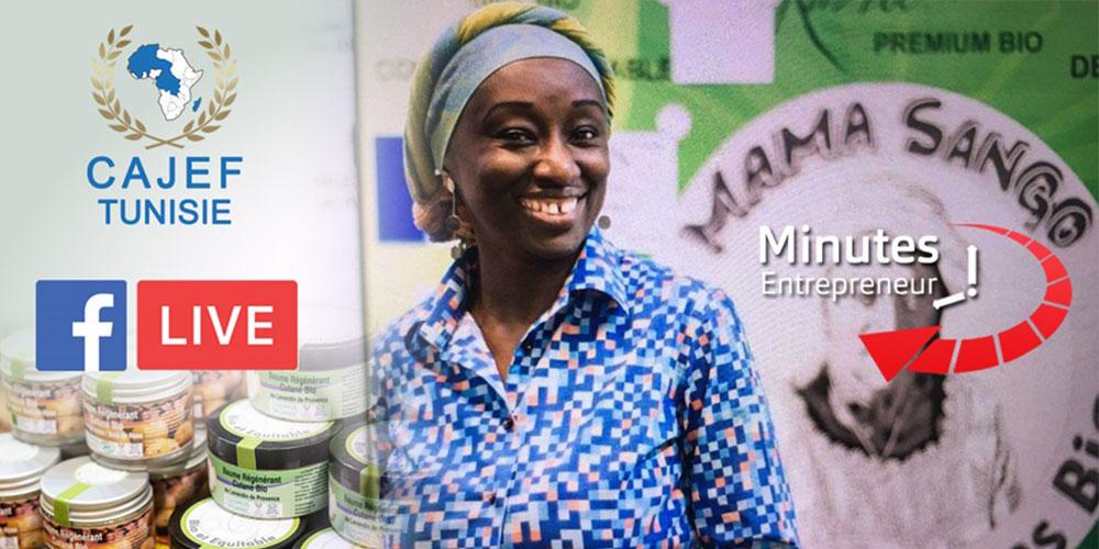 Minutes Entrepreneur  : MAMA SANGO  le 100%  Bio de la Guinée