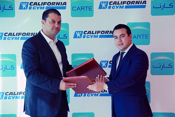 En photos : Partenariat entre CARTE Assurances et California Gym